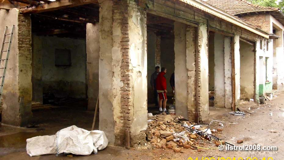 реставрация стопанска сграда